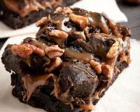 Recette Caramel Beurre Salé Cyril Lignac recettes cyril lignac brownie au caramel : toutes les recettes